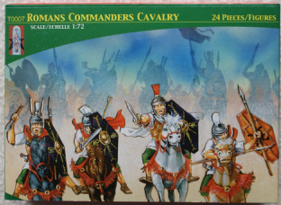 Lucky Toys 1/72 LT72007 Roman Commanders Cavalry (Ancients)
